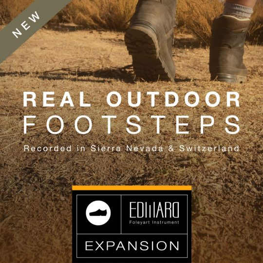 Real Outdoor Footsteps EFI