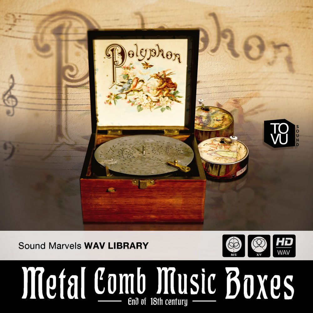 Metal Comb Music Boxes
