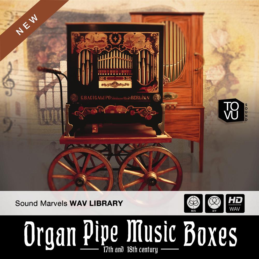 Organ Pipe Music Boxes